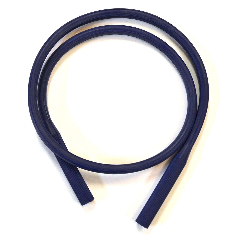 """Eisco Labs Neoprene Bunsen Burner Hose, 3 ft (.9m) - Tube ID 1/4"""", OD 7/16"""""""