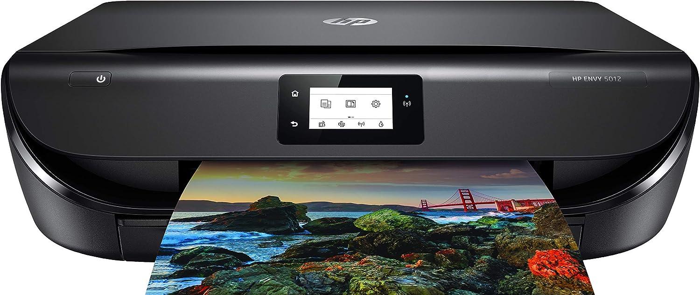 HP Envy 5012 Wireless Color Inkjet All-in-One Printer, Scanner, Copier Z4A60A#1H5 (Renewed)