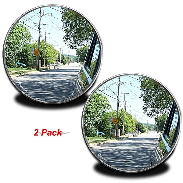 Zento Deals Rearview Blind Spot Mirrors