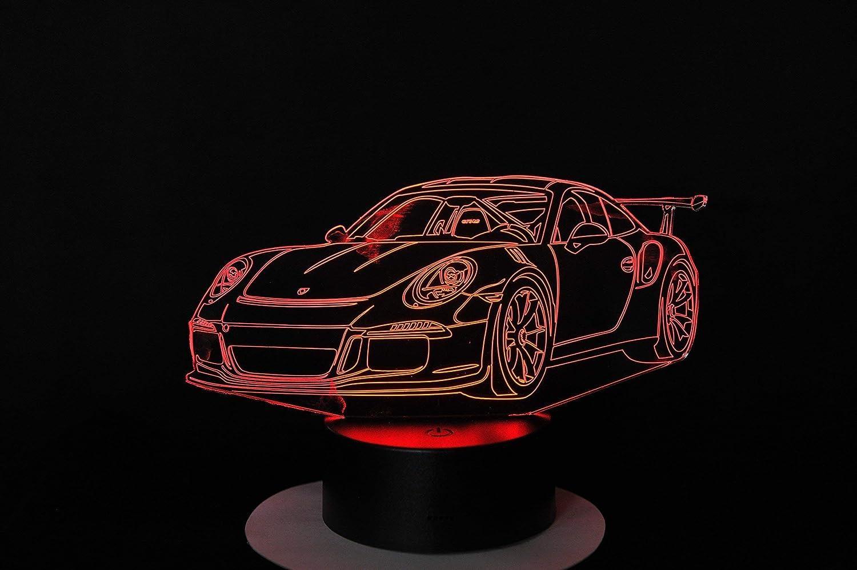 Lampe 3D Motif: Porsche 911 GT3 RS