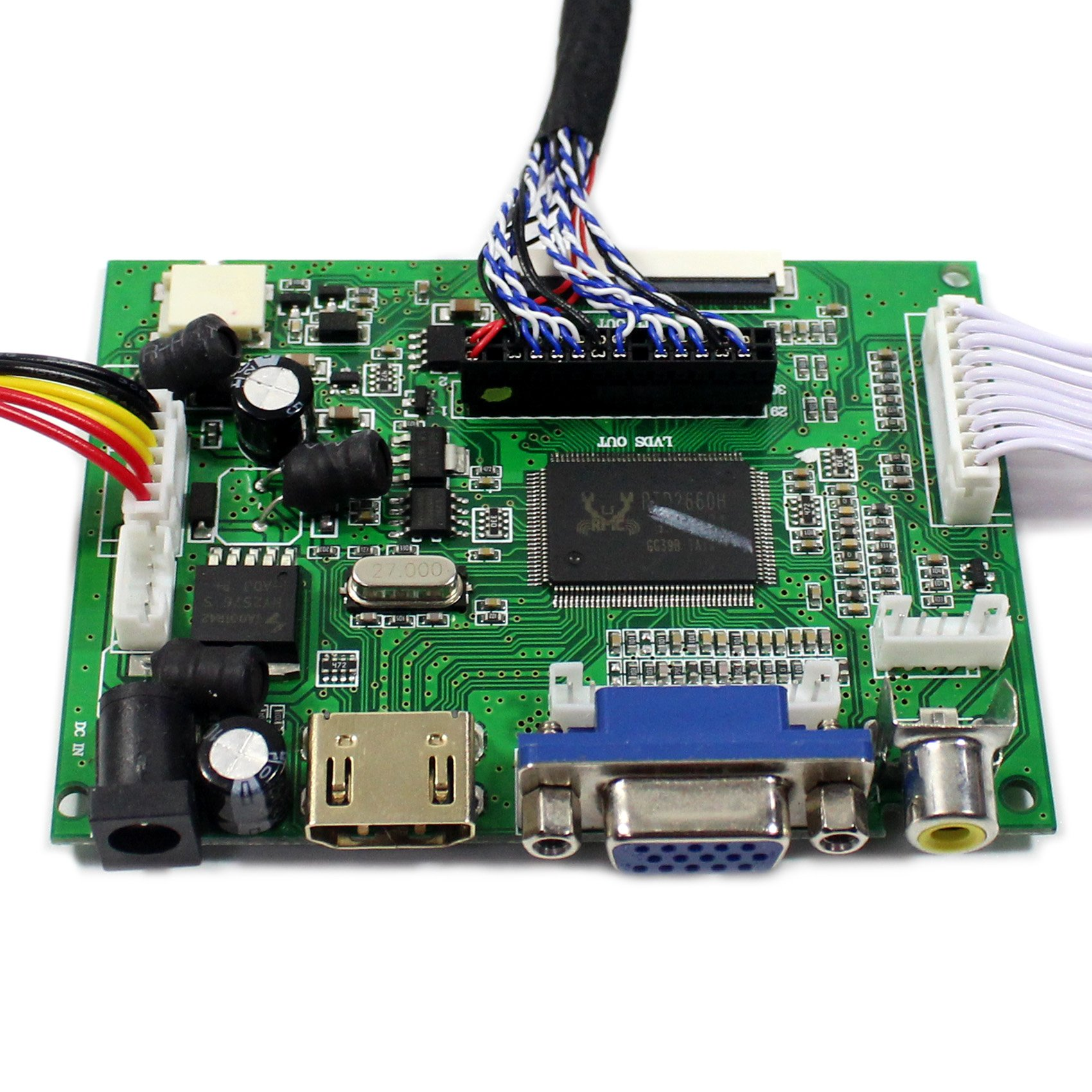 HDMI+VGA+2AV Input LCD Controller Board For B170PW04 LM171W02-TLB2 17'' 1440x900 2CCFL 30Pins LCD Panel by LCDBOARD (Image #4)