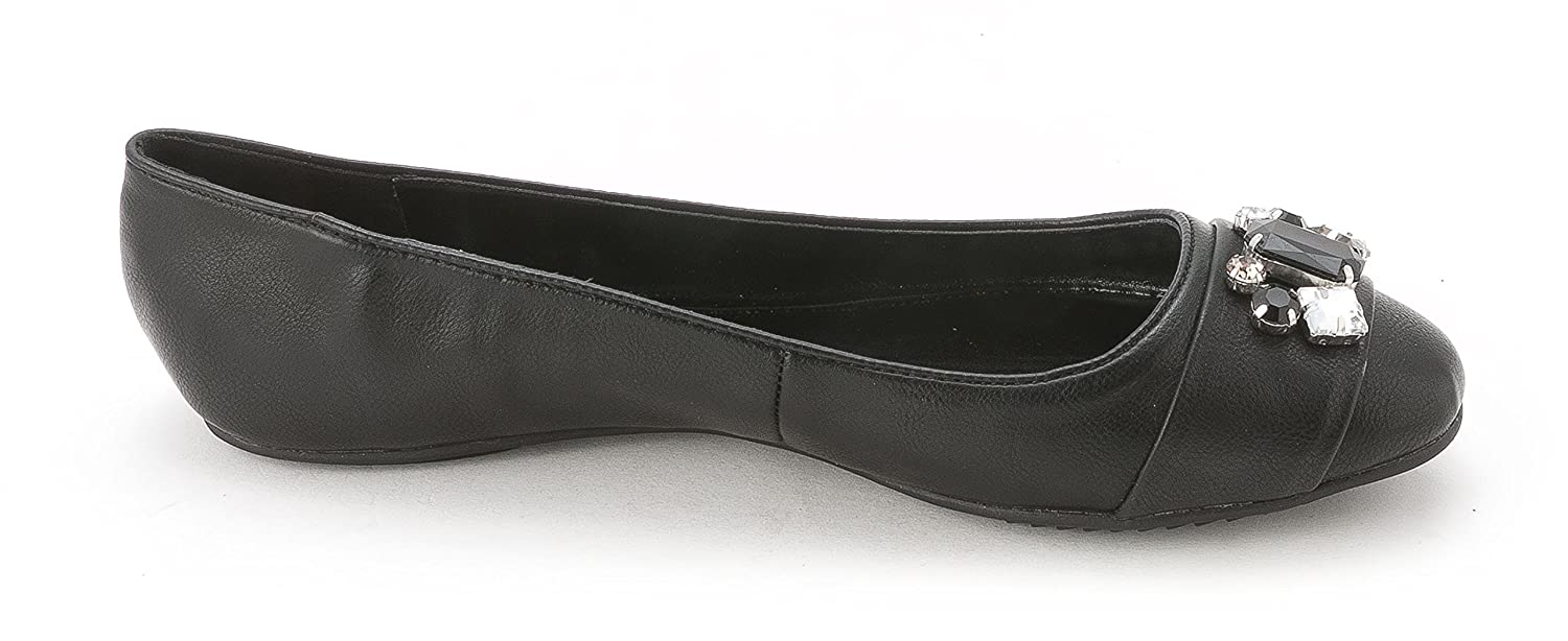 Kenneth Cole Unlisted Women's Trick-Stir Ballet Flats, Black, Size 8.0