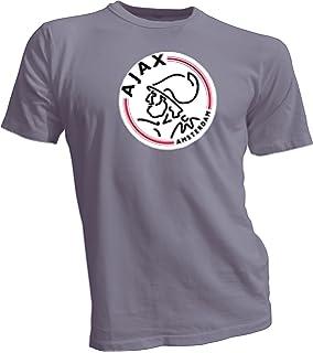 4ea7ddb7b56 Amazon.com : AFC Ajax Amsterdam Football Club Soccer T-SHIRT white ...