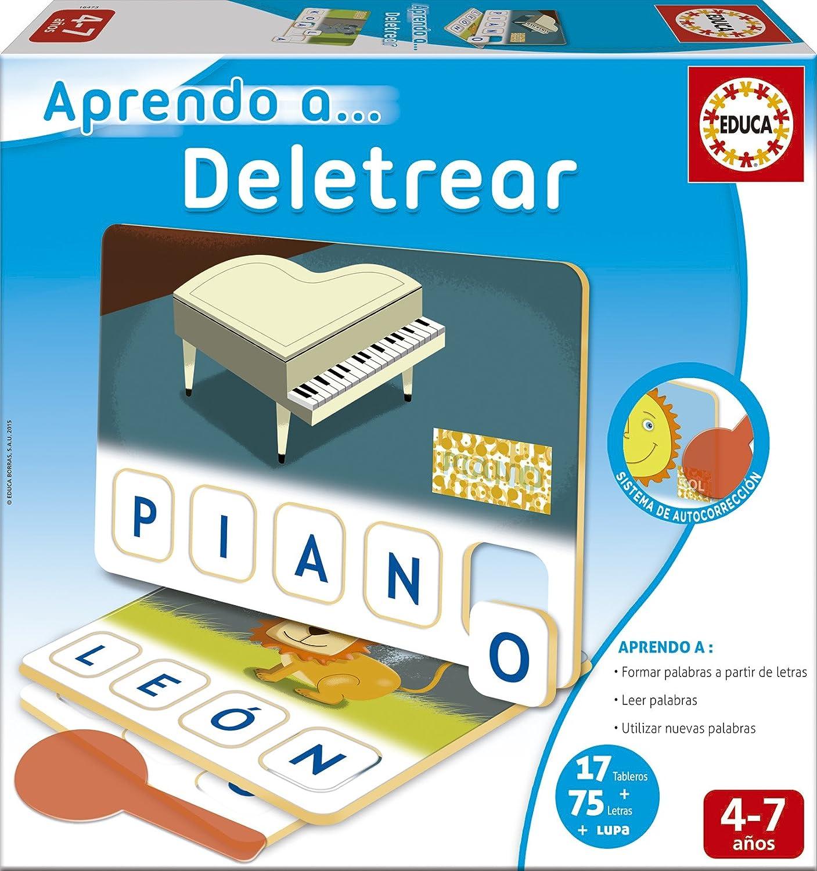 Juegos educativos Educa - Aprendo a…Deletrear (16473): Amazon.es: Juguetes y juegos