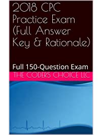 Amazon study guides books 2018 cpc practice exam full answer key rationale full 150 question fandeluxe Gallery