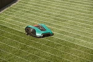 Bosch Indego 350 Rasen Fläche messen