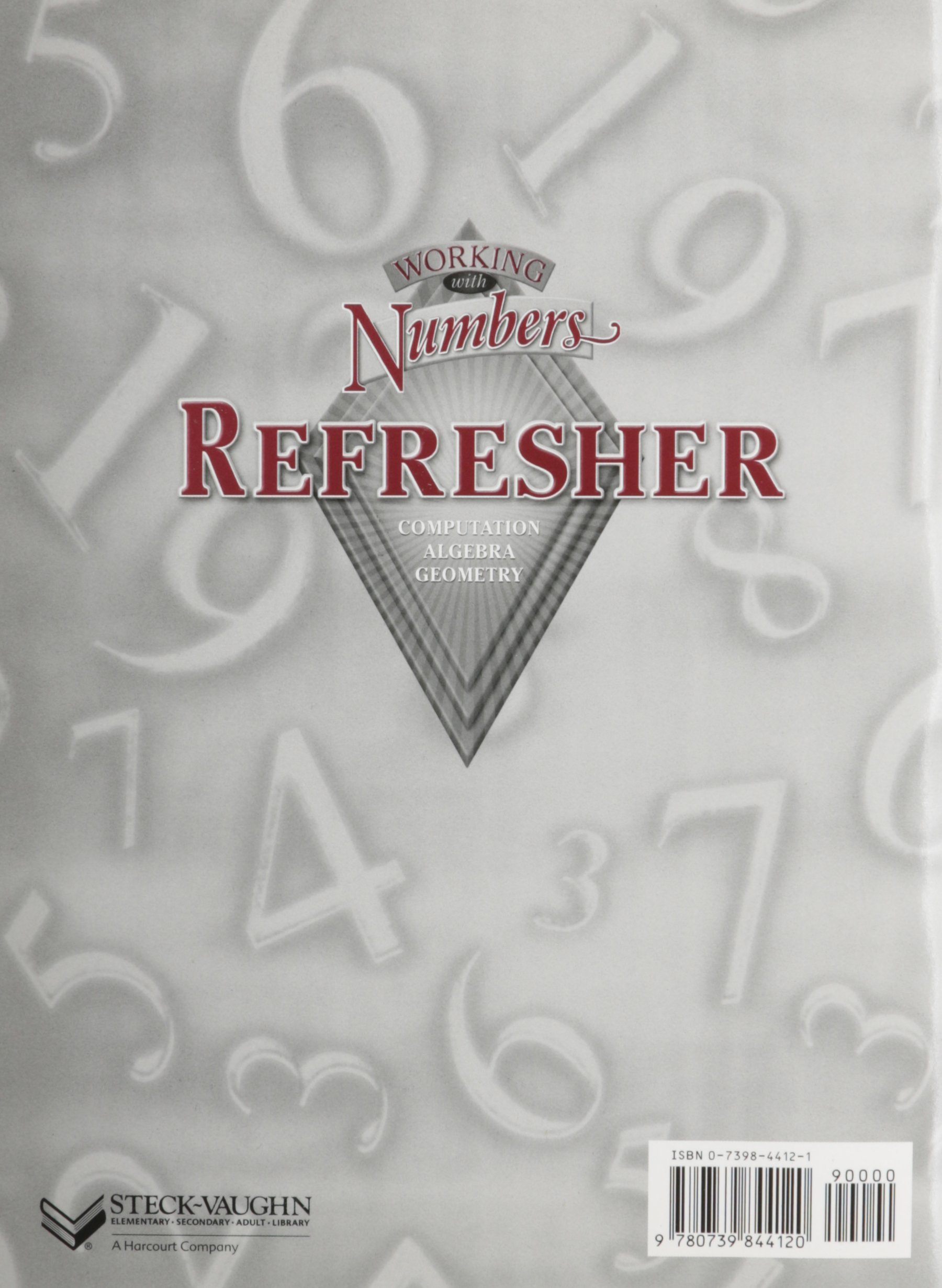 Amazon.com: Working With Numbers Refresher: Computation, Algebra ...