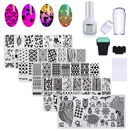 AIMEILI Nail Stamp Kit
