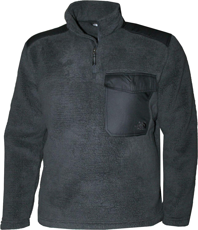 The North Face Mens Grove Land Sherparazo Fleece 1//4 Zip Jacket