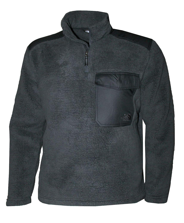 e0dbc545335e The North Face Men s Grove Land Sherparazo Fleece 1 4 Zip Jacket at Amazon  Men s Clothing store