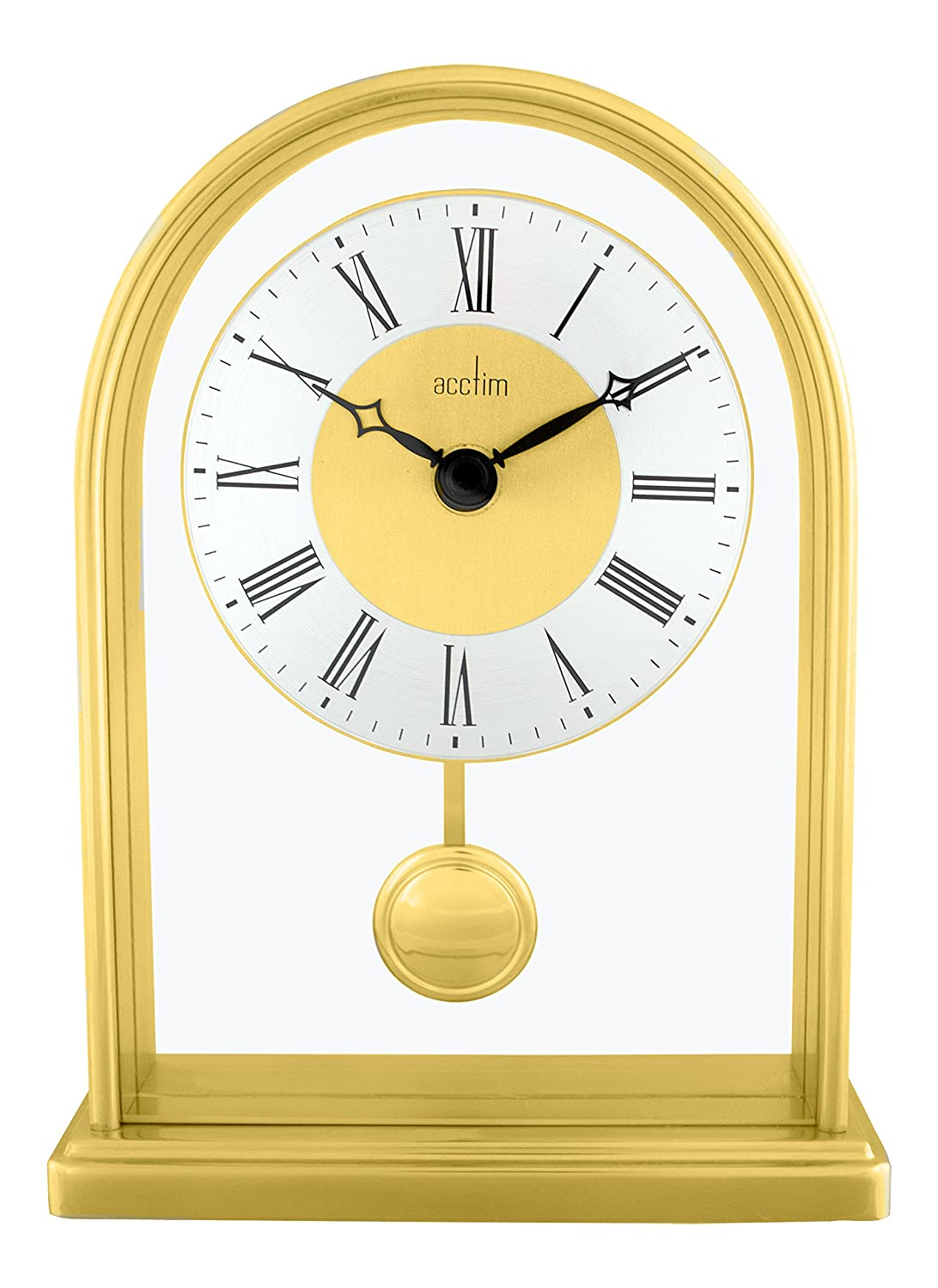 Acctim Thurrock Mantel Clock with Quartz Pendulum Movement