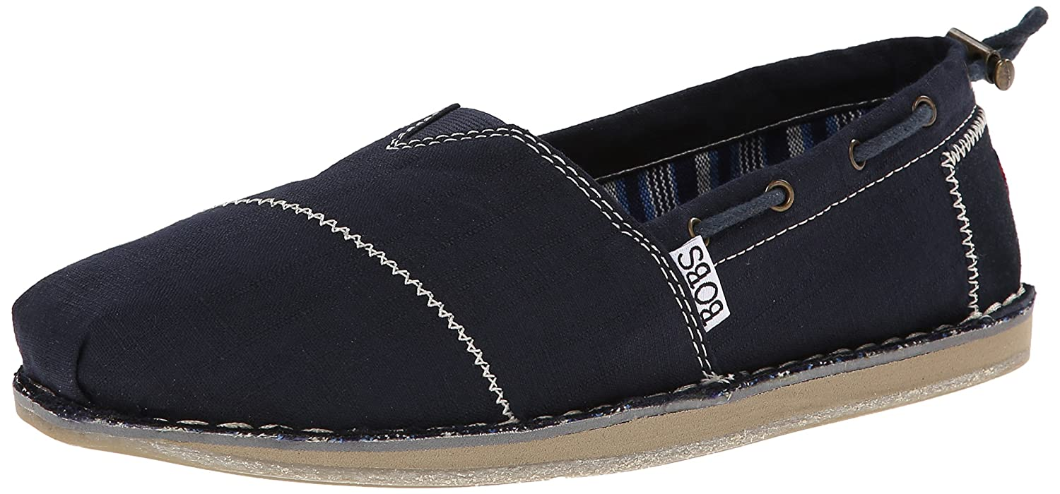 Skechers BOBS from Women's Chill Slip-On Flat B00L8U1D0M 5 B(M) US|Navy