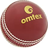 Omtex Pro Synthetic Soft Ball, Men's Standard (Red)