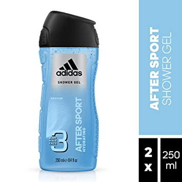 Adidas After Sport - Gel de ducha para hombre 3 en 1, 250 ml ...