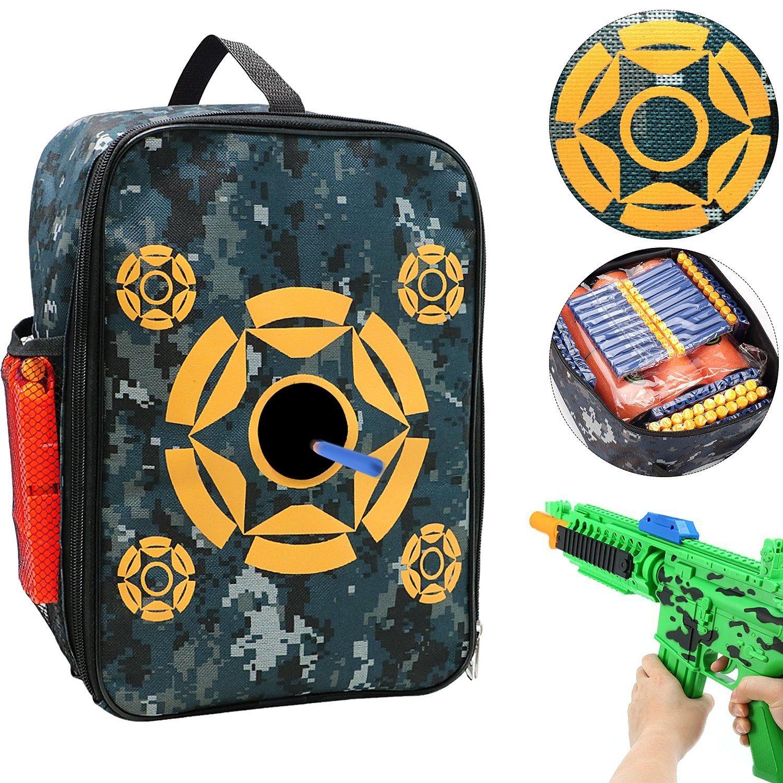 Tacobear Target Pouch Storage Carry Equipment Bag para Nerf N-Strike Elite / Mega / Rival Series … (2pcs)
