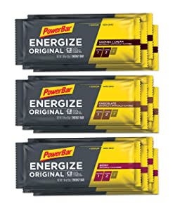 PowerBar Energize Original – 'The Original' Energy Bar for Endurance & Team Sports Athletes – Fueling Champions for 30+ years: 12 x 55g Bars - Variety Pack