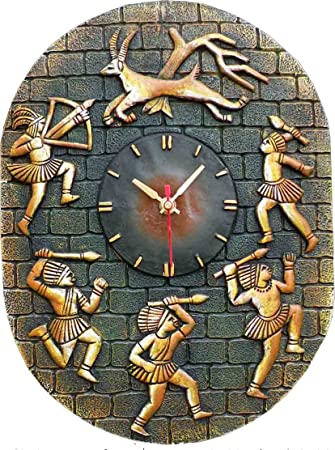Buy Handmade Terracotta Wall Clocks Online at Low Prices in India