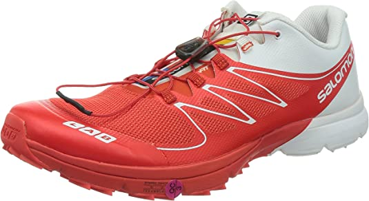 SALOMON S-Lab Sense 2 Zapatilla de Trail Running Unisex, Rojo ...