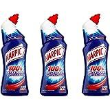 Harpic Gel 100 % Détartrant 750 ml - Lot de 3