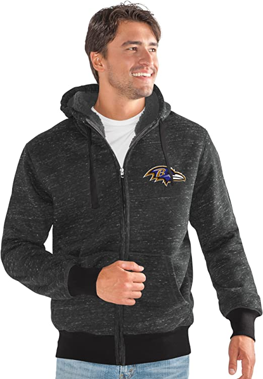4X G-III Mens Legend Hooded Track Jacket Gray