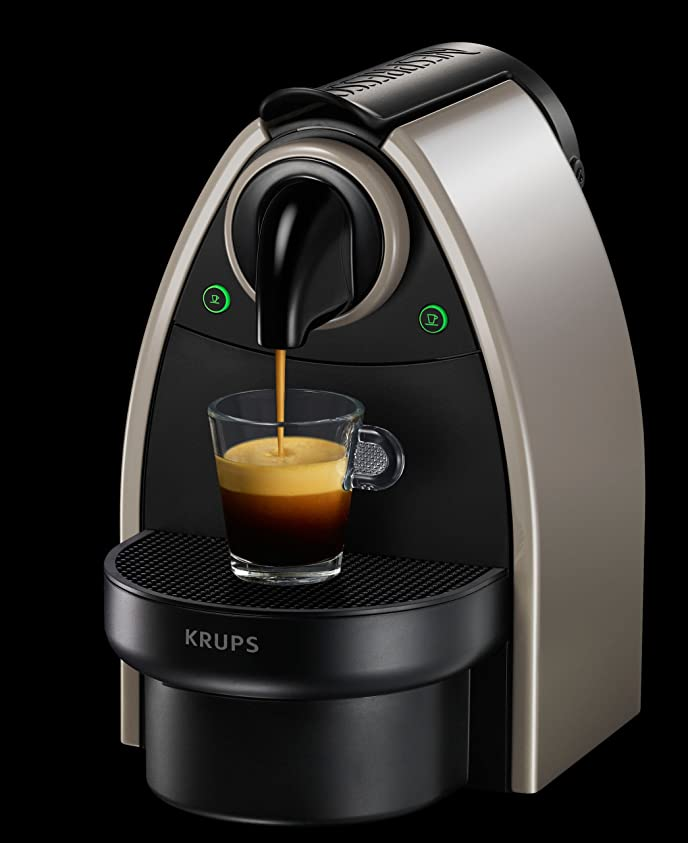 Krups Nespresso XN214040 Essenza Auto Coffee Machine - Earth ...