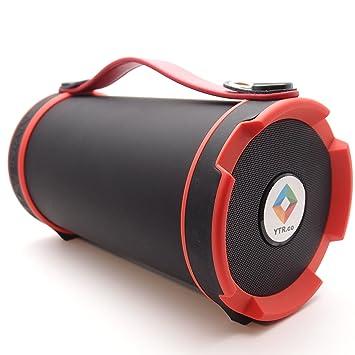 Amazon.com: Alimentación por batería YTR altavoz bluetooth ...