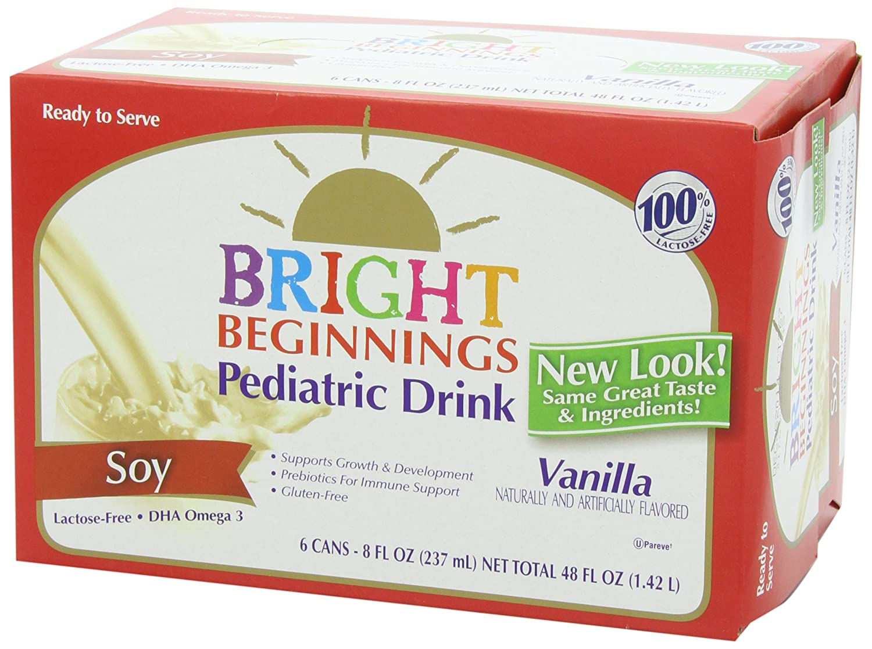 amazon com bright beginnings soy pediatric nutritional drink