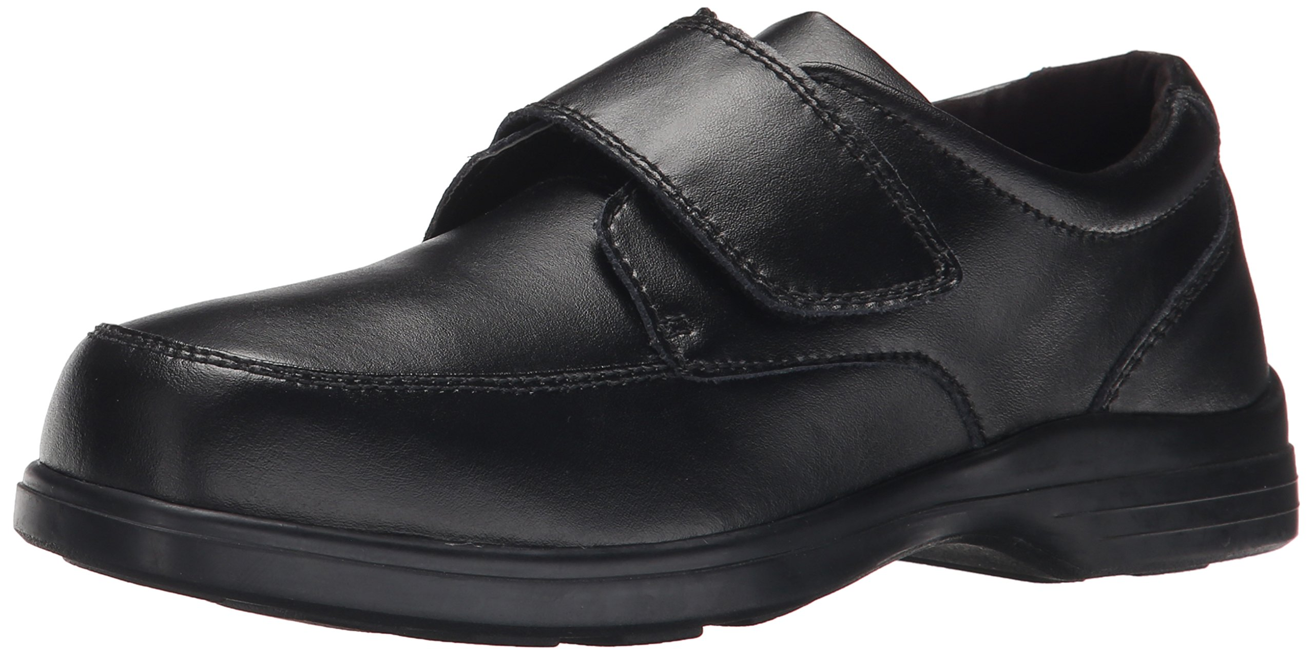 Hush Puppies Gavin Uniform Dress Shoe (Toddler/Little Kid/Big Kid), Black, 2 M US Little Kid