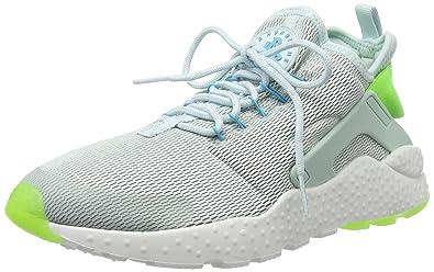 39784ff2117 Nike Women s W Air Huarache Run Ultra Fitness Shoes Light Blue  (Fibreglass Electric Green
