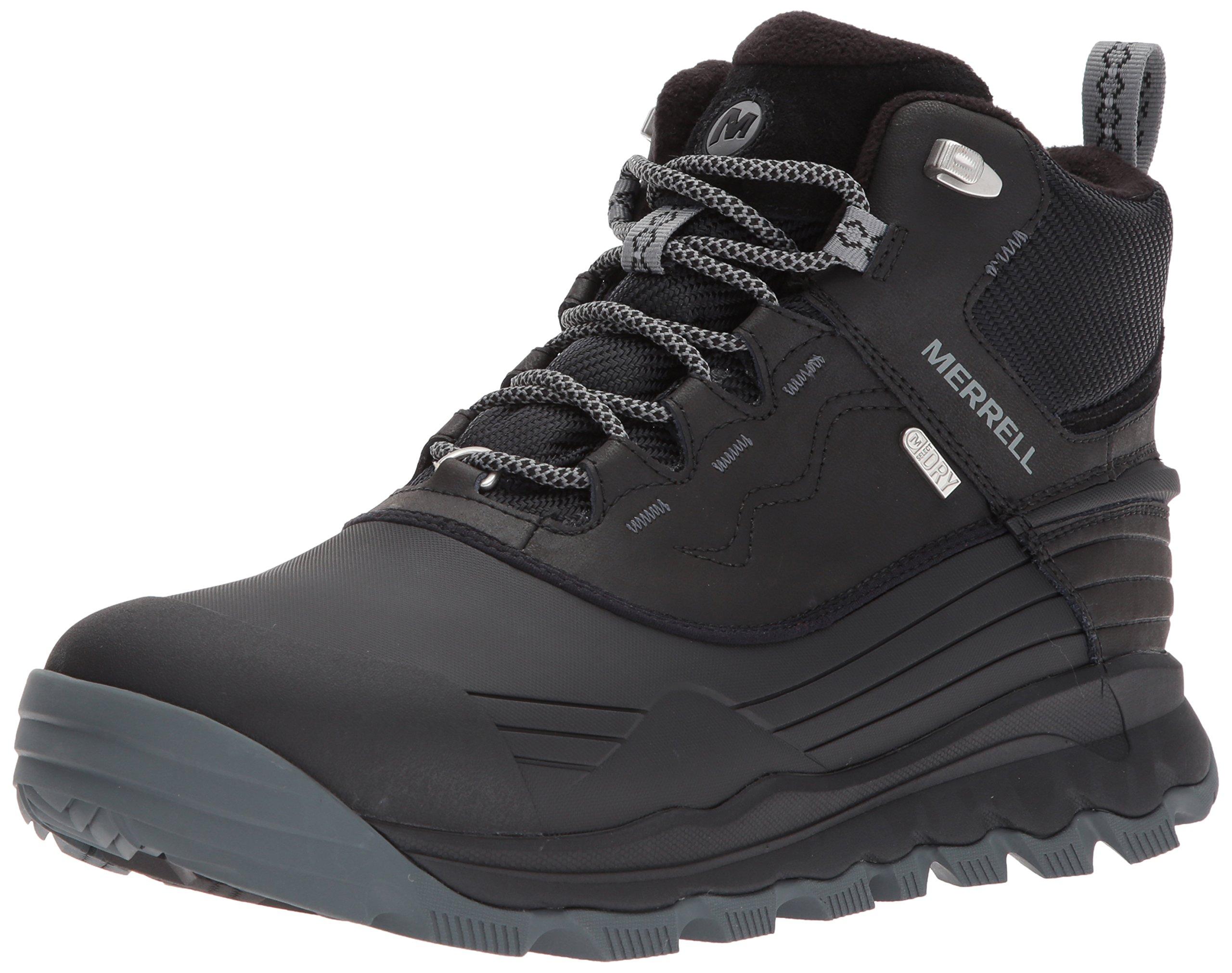 Merrell Men's Thermo Vortex 6'' Waterproof Snow Boot, Black, 12 M US