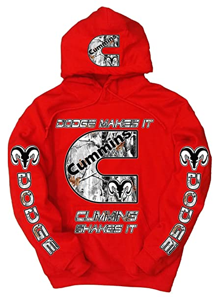 "a9868012 Cummins ""Dodge Makes it, Cummins Shakes it"" Snow Camo Logo ..."