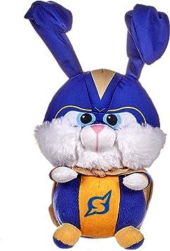 Secret Life Of Pets 2 Official 12 Snowball The Rabbit Soft Plush Toy Superhero Amazon Co Uk Toys Games