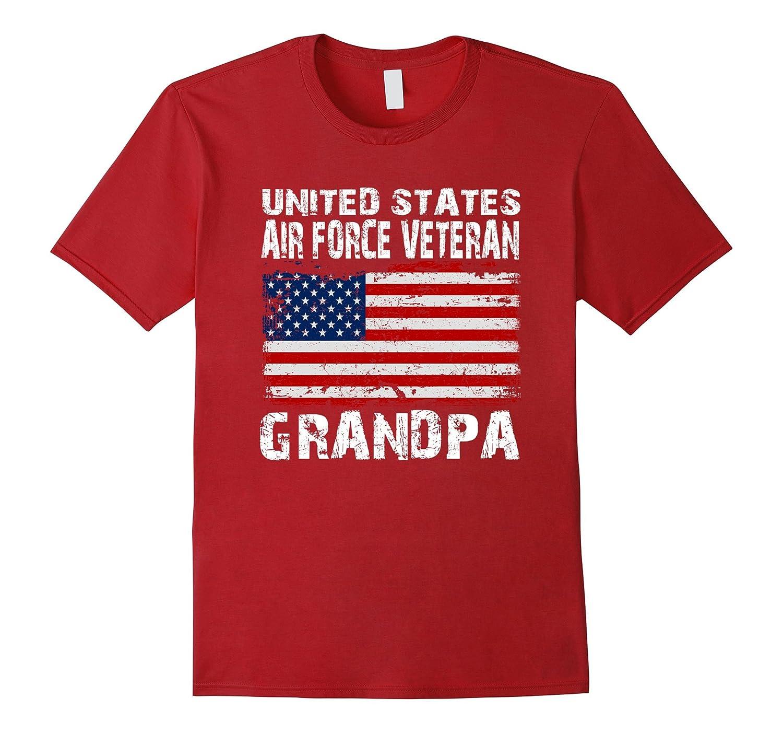 United States Air Force Veteran Grandpa Proud T-shirt