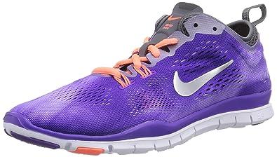 Nike Free 5.0 TR Fit 5 PRT Natural Running Schuh Damen Pink, Weiß