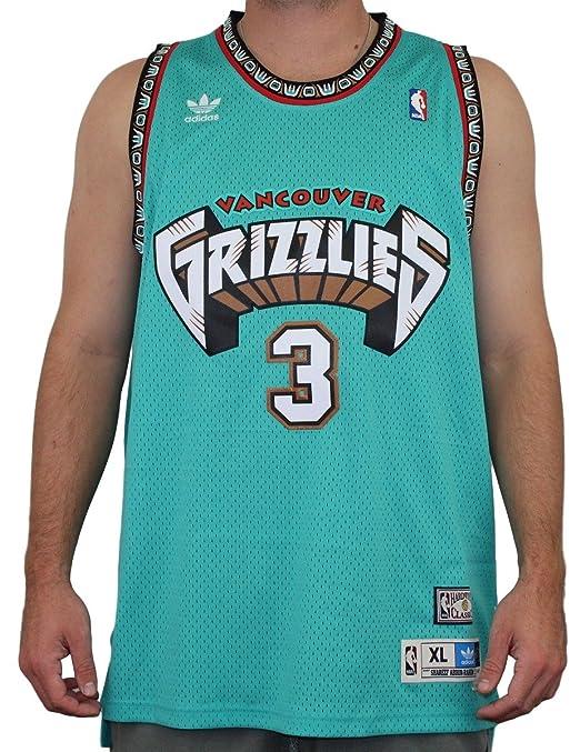 Amazon.com   Shareef Abdur-Rahim Vancouver Grizzlies Adidas Throwback  Swingman Jersey - Teal   Sports   Outdoors 3ffdb960b
