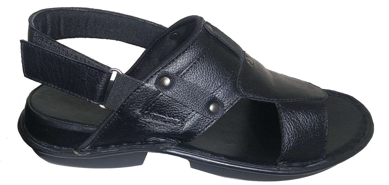 Leather HIGH Heels Sandals for Men