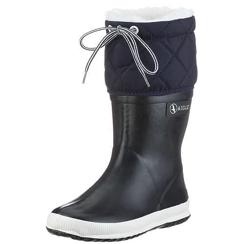 db82664f3fcbe1 Aigle Giboulee, Bottes de Pluie mixte enfant: Amazon.fr: Chaussures ...