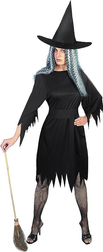Smiffys Smiffys-20421S Halloween Disfraz de Bruja horripilante ...