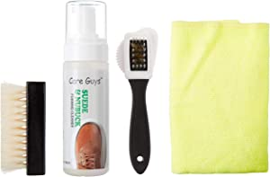 Suede & Nubuck Foaming Cleaner Kit by Care Guys:Cleaning Kit Specially for Suede & Nubuck - 5oz