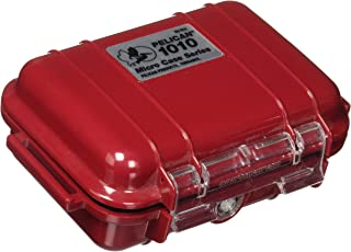 product image for Pelican 1010 Micro Case Solid Red With Red Lid, 5.44 x 4.06 x 2.13