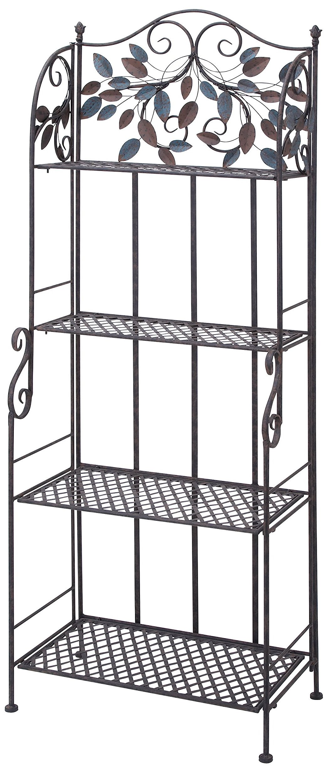 Deco 79 Metal Baker Rack, 68 by 26-Inch