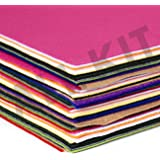 Edukit Acrylic Felt Jumbo Pack - 60 Sheets - 8.3 x 11.7 Inch - 15 Assorted Colours