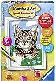 Ravensburger - 29675 - Número de Arte - Mini - gato de gatito sorprendido