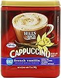 Hills Bros Cappuccino, Sugar-Free French Vanilla, 12 Ounce
