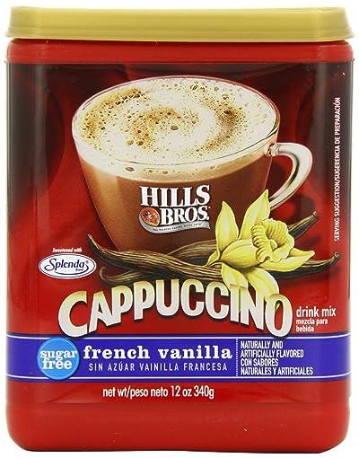 Hills Bros Cappuccino Sugar Free Vanilla