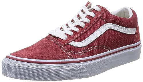 vans old skool rojas mujer