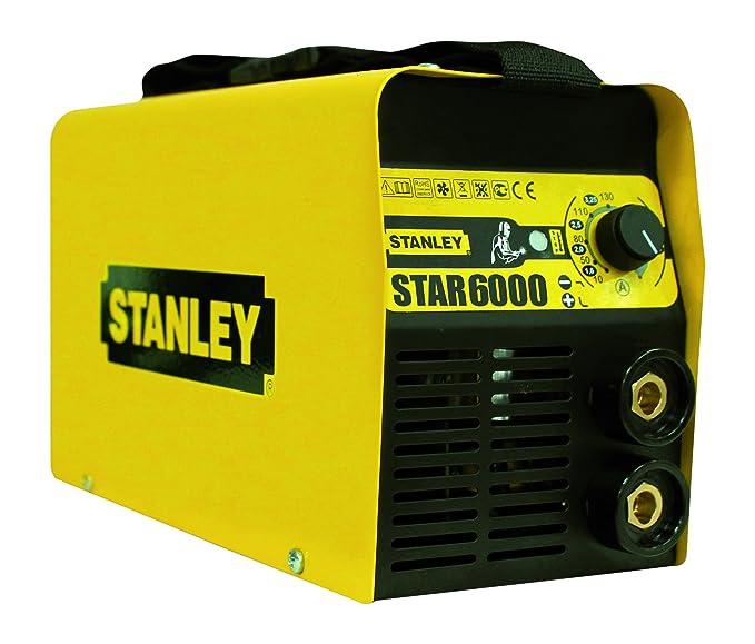 Stanley STAR2500 - Equipo de soldadura (2,3 W, 230 V), color amarillo y negro