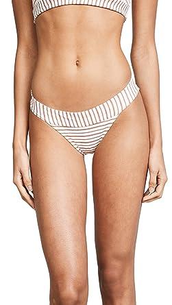 Lspace Womens Veronica Bitsy Bikini Bottoms White X Small