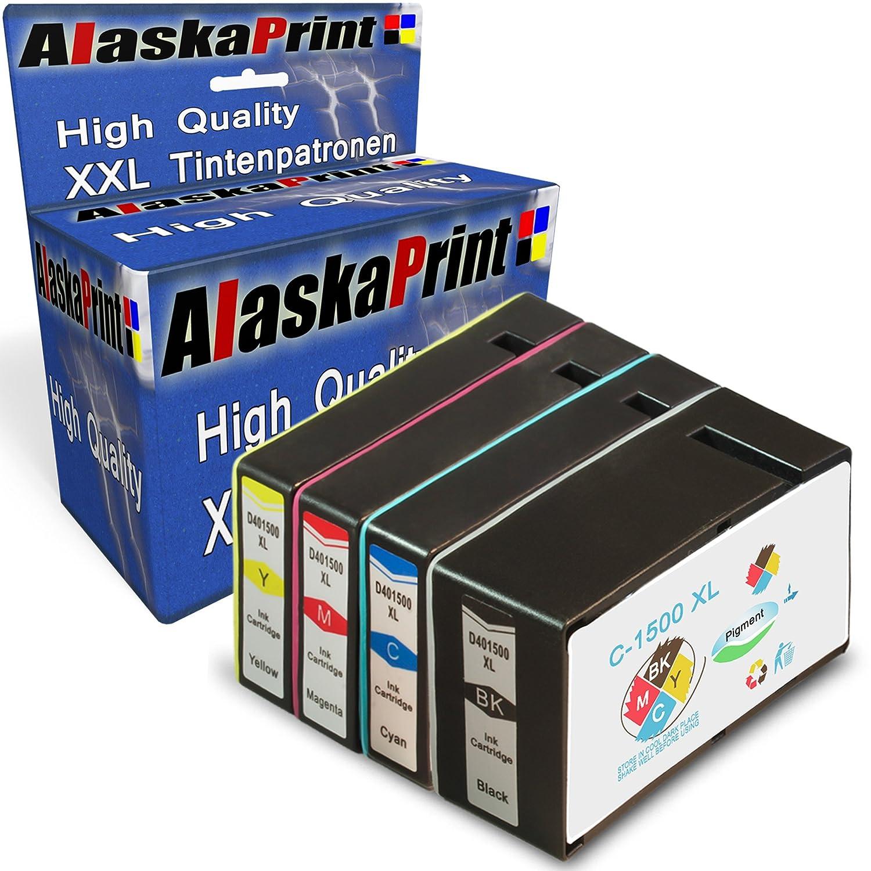 Alaskaprint Reemplazo para Canon PGI-1500XL Cartuchos de Tinta ...