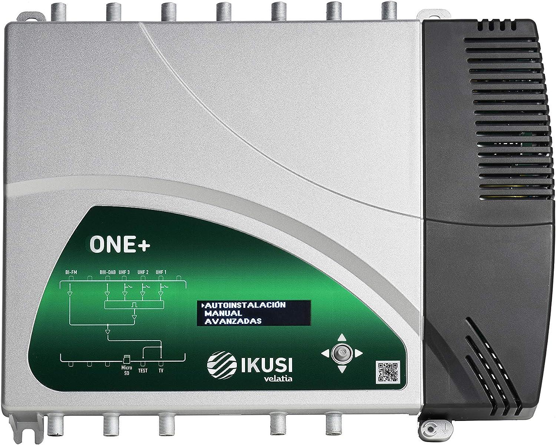 Central programable One+ con un Nivel de Salida de 131dBuV 2865 de Ikusi